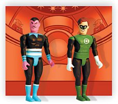 "D C Comics Pocket Super Heroes: ""The Silver Age Green Latern vs Sinestro"""