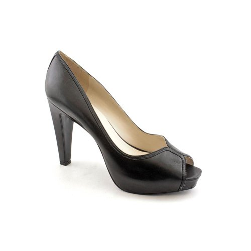 Nine West Women's Justjoshin OpenToe Pump,Black,7.5 M US Picture