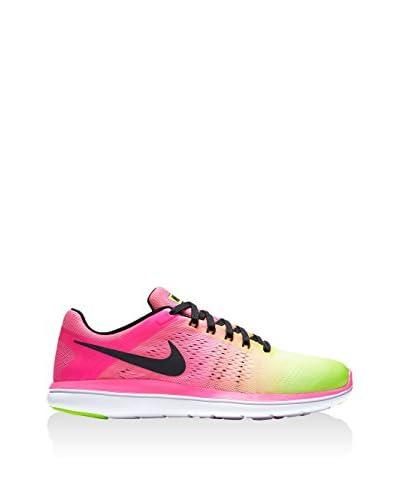 Nike Zapatillas Flex 2016 Rosa / Verde