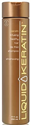Liquid Keratin Keratin Infusing Healthy Hair De-Frizz Shampoo 8 oz