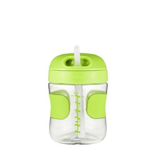 Oxo Tot Straw Cup, Green, 7 Ounce Color: Green Size: 7 Ounce Newborn, Kid, Child, Childern, Infant, Baby back-524290