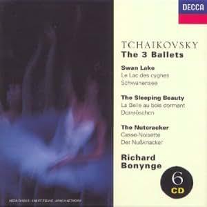 Tchaikovsky,  les 3 Ballets : Le Lac des Cygnes - La Belle au bois dormant - Casse-Noisette