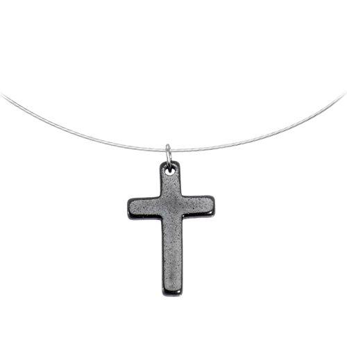 Hemalyke Cross Choker Necklace