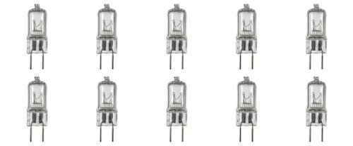 Illumi Projections * 10 Pack * G8 20Watt 120V Halogen Light Bulbs Jcd Type 110V 130V 20W T4 G8 120 Volt