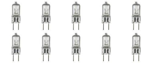 Illumi Projections * 10 Pack * G8 20Watt 120V Halogen Light Bulbs Jcd Type 110V 130V 20W T4 G8 120 Volt