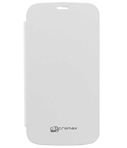 TBZ Flip Cover Case -White for Micromax Canvas Turbo A250  available at amazon for Rs.249