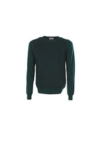 Maglia Uomo Brooksfield 203F.K019 Verde Scuro/blu Notte Autunno/Inverno Verde Scuro/blu Notte 46