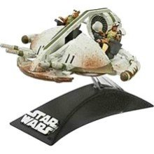 Star Wars Die-Cast Metal TITANIUM Series SWAMP SPEEDER VEHICLE - 1