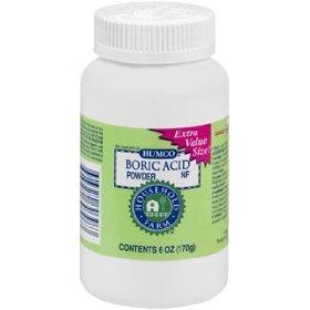 BORIC ACID POWDER HUMCO 6 OZ [Health and Beauty]