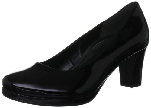 Gabor Womens Ella P Platform 82.190.17 Black 8 UK, 42 EU