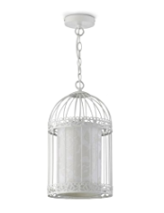Bird Cage Pendant Ceiling Lamp