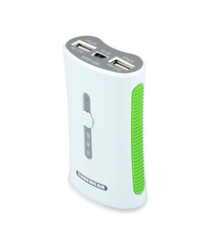 iPhone 4を3回充電可能な大容量バッテリ「TUNEMAX 2 PORT USB BATTERY」