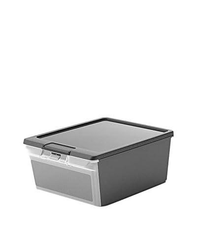 Kis Set Contenitore Organizzazione Spazi 5 pezzi Twin Box Xs Nero