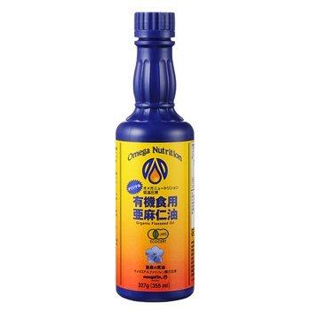 オメガの有機 亜麻仁油(フラックスオイル)355ml