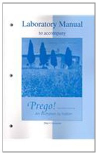 Laboratory Manual to accompany Prego! An Invitation to...