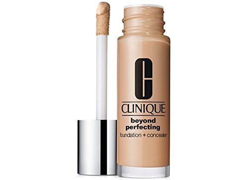 Clinique Beyond Perfecting Foundation + Concealer - Lightweight, Moisturizing Makeup (Neutral) by Illuminations