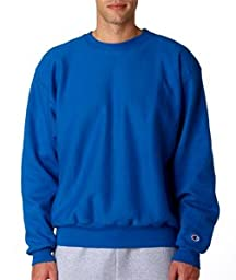 Champion S149 Adult Reverse Weave Crew Neck Fleece - Team Blue, Medium