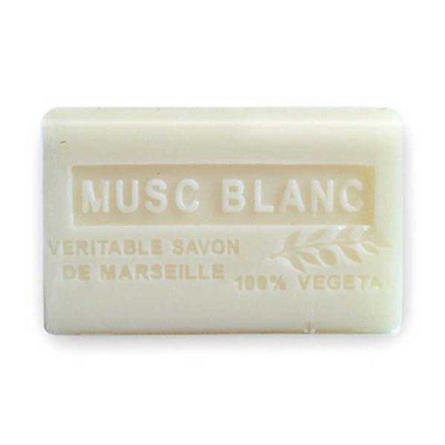 (南仏産マルセイユソープ)SAVON de Marseille 白麝香の香り(SP056)(125g)