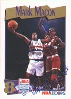 Mark Macon Denver Nuggets 1991 Hoops Draft Choice Autographed Hand Signed Trading... by Hall+of+Fame+Memorabilia
