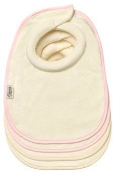 Tommee Tippee Closer To Nature Milk Feeding Bibs Girl (Pack Of 4) front-991366