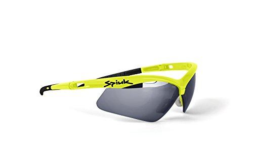 Spiuk Ventix - Gafas de ciclismo unisex, color amarillo
