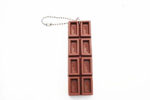 Delicious Chocolate Bar Candy Keychain 4GB USB