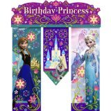 Frozen Inspired Happy Birthday Party Sign