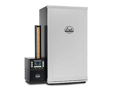 Bradley Digital 4 Rack Electric Smoker With Temperature And Smoke Control