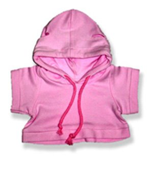 """Pink Sweat Shirt - 2016 Fits 15"""" - 16"""" bears, includes Build a Bear, The Bear Mill, and Stuff your own Animals."""