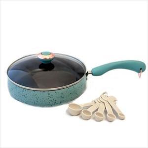 Paula Deen Signature Porcelain 'Robin's Egg Blue' 2.75-Qt Saute Pan
