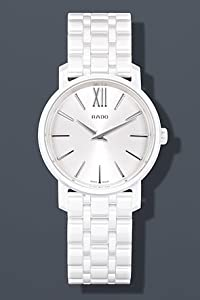 Rado DiaMaster Roman Mini White Dial Ceramic Case and Bracelet Ladies Watch R14065017