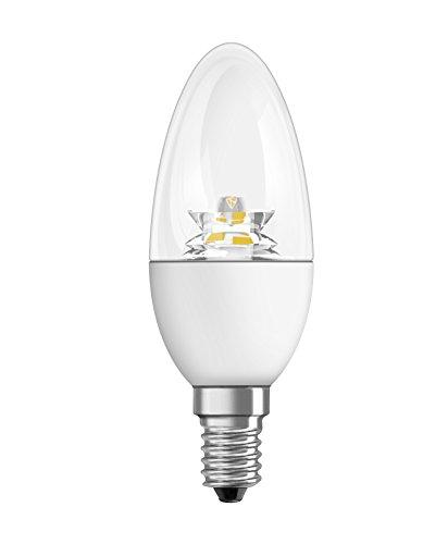 Osram 4W Glass Candle LED Bulb (Warm White)