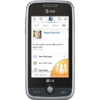 LG Prime GS390 Unlocked Phone with Touchscreen and 2MP Camera – Unlocked Phone – US Warranty – Black/Silver