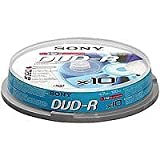Sony DMR 47 - 10 x DVD-R - 4.7 GB ( 120min ) 16x - spindle - storage media
