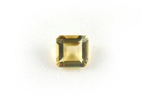 LX0033 Citrine Square Shape Unset Loose Natural Gemstone