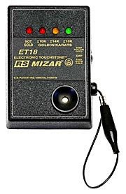 Et18 Rs Mizar Electronic Gold Tester