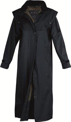 Jack Murphy Malvern - Ladies Full Length 100% Waterproof Coat - UK 20 / EU 48 - Navy