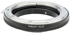 Gadget Place Nikon Lens Adapter for 43 Olympus E-5 E-3 E-1 E-620 E-520 E-500 E-450 E-420 E-410 E-400