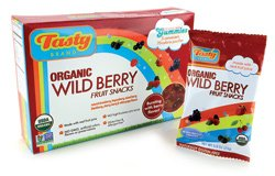 Tasty Brand Fruit Snack Organic Wild Berry 113 g