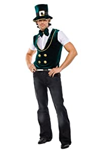 Leprechaun Lad Adult Costume - Mens Sm/Md 34-40