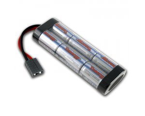 7.2V Flat Battery Pack, 5000mAh NiMH Traxxas Connector