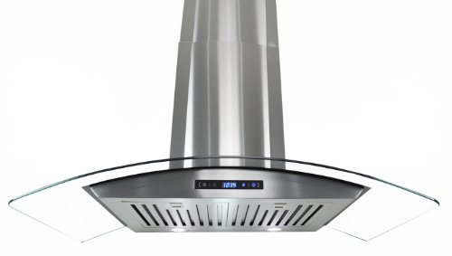 "Firebird New 30"" European Style Wall Mount Stainless Steel Range Hood Vent W/Touch Button Control Fbak-Sa866-75"