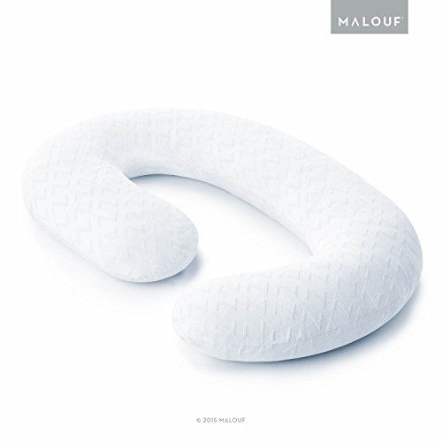 Z Total Body C-Shape Pregnancy Pillow - Wrap Around Ultra Supportive Sleeping Pillow - 1