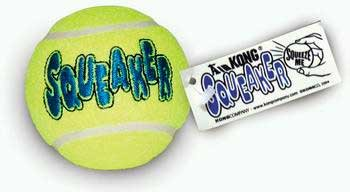 Air Kong Dog Squeker Tennis Ball Bulk Ast2b