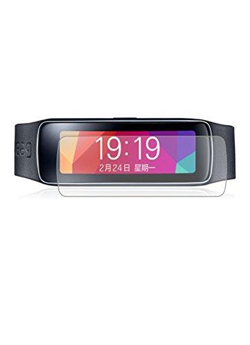 3 x Membrane Pellicola Protettiva Samsung Galaxy Gear Fit - Trasparente, Confezione ed accessori