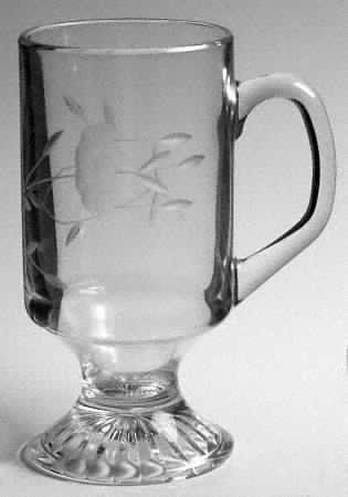 Princess House Heritage Irish Coffee Mugs #862 Two In Set