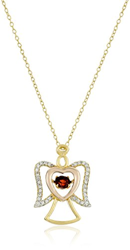 18k gold and rhodium plated sterling silver �dancing