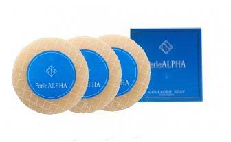 PerleALPHA コラーゲンソープ 100g 3個セット