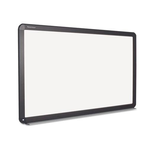 Mastervision - Interactive Magnetic Dry Erase Board, 90 X 52 7/10 X 4 1/5, White/Black Frame Bi1591802 (Dmi Ea