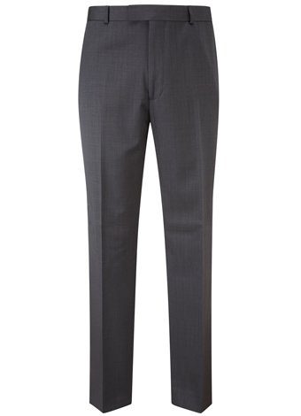 Austin Reed Contemporary Fit Charcoal Trousers REGULAR MENS 30